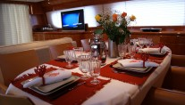 Yacht DILIAS -  Formal Dining